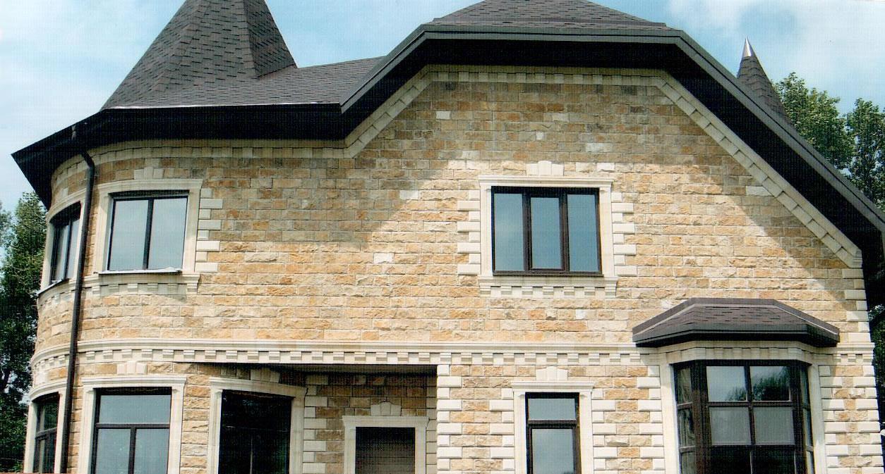 Фасады. Натуральный или искусственный камень
