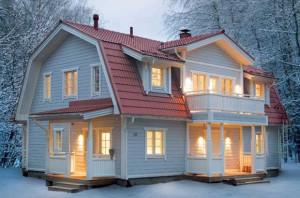 Крыши. Ломаная (мансардная) крыша