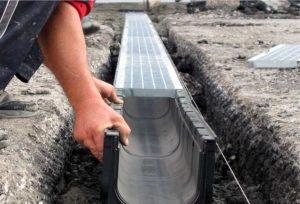 Решаем проблемы отвода дождевой воды