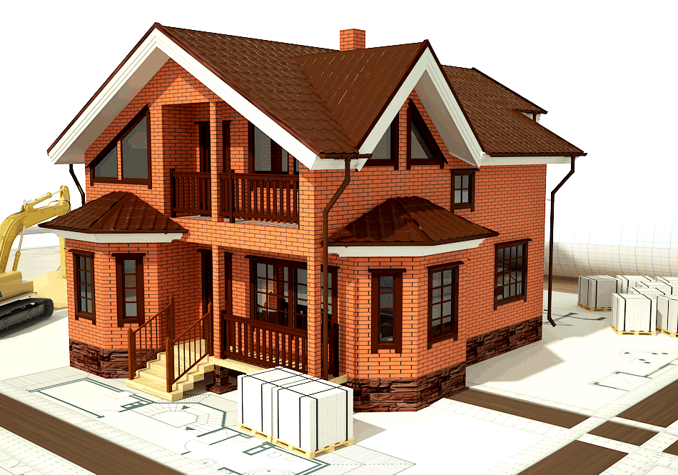 за сколько можно построить кирпичный дом
